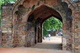 Gateway at Qutub Minar