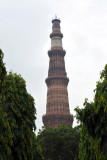 Qutb Minar was built to celebrate the victory of Mohammed Ghori over the Rajputs in 1192