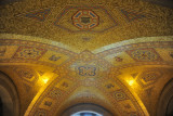 Mosaic ceiling of the rotunda, Royal Ontario Museum