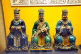 Hell's Three Judges, Henan Province, 16th C.