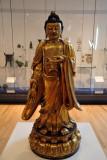 Standing Buddha, Linjou, Shanxi Province, 16th-17th C.