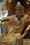 Guanyin on a dragon throne, Shanxi Province, 14th-15th C.