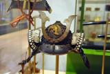 Japanese helmet with frontal kuwugata, ca 1550