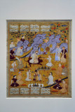 The Court of Gayumard from the Book of Kings by Firdausi 1560-1570