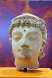 Head of a bodhisattva, Gandhara (Pakistan) 4th-5th C.