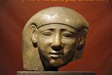 Sarcophagus head, Ancient Egyptian