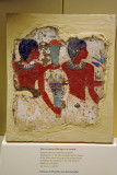 Men bringing offerings to a funeral, 18th Dynasty ca 1400 BC