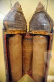 Torah scroll (17th-18th C.) and case (1907), Iraq,