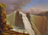 The Cackabakah Falls, Kaministiquia River, NW Ontario, Paul Kane (1849-1856)
