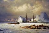 The Polaris, Far North, William Bradford 1882