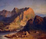 The Coast of Labrador, Augustus Rockwell 1874