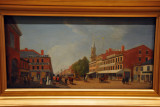 View of King Street, Toronto, John Gillespie 1844