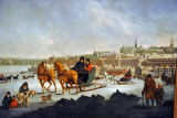 The North West Part of the City of Quebec, George Heriot ca 1805