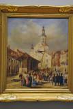 The Market Place, Quebec ca 1850