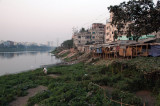 Eastern shore of Gulshan Lake, Dhaka