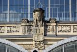 Sculptural detail - Dammtor Railway Station