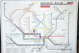 HVV - Map of Hamburg's Rapid Transit and Regional Rail