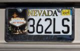 Nevada License Plate - Las Vegas