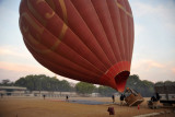 Balloon inflation nearly complete