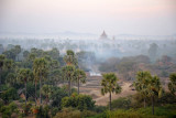 Sulamani Guphaya in the distance across the plains of Bagan
