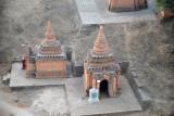Small brick pagodas, Bagan
