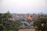 High concentration of monuments on the Central Plain, Bagan