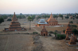 Bagan temple sporting a new tin roof