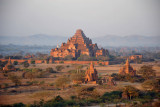 Dhammayangyi Temple dominating the Central Plains of Bagan