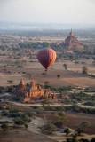 Balloon Over Bagan with Sulamani Temple