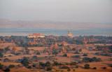 Aerial view looking northwest to Old Bagan