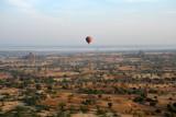 Balloons Over Bagan - looking north