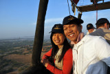 Dennis and the girl from Hong Kong, Balloons Over Bagan