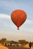 XY-AHF landing in a field near New Bagan