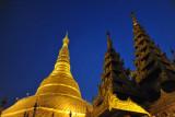 Zedi and pyat-that, Shwedagon Paya