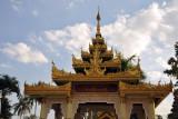 Ngahtatgyi Paya is directly opposite the giant Reclining Buddha of Chaukhtatgyi Paya