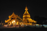 Maha Wizaya Paya, the General's Pagoda built in 1980 to commemorate the unification of Theravada Buddhism in Myanmar