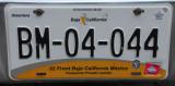 Mexican License Plate - Baja California