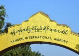 Yangon International Airport, Myanmar