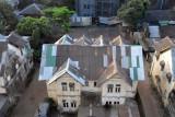 Rooftop view of an interesting house next to Park Royal Hotel, Yaw Min Gyi St, Yangon