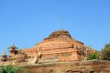 A ruined stupa along the road from Mandalay Airport to Inwa via Tada-U