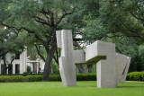 Sculpture garden, Houston Museum of Fine Arts