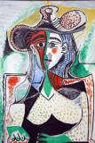 Femme au grand chapeau, 1962, Pablo Picasso (1881-1973)