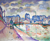 The Saint-Martin Canal, 1906, Georges Braque (1882-1963)