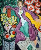 Woman in a Purple Coat, 1937, Henri Matisse (1869-1954)