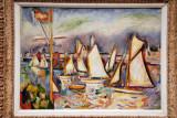 The Regatta at Antwerp, 1906, Othion Friesz (1879-1949)