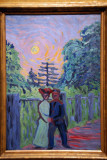 Moonrise: Soldier and Maiden, 1905, Ernst Ludwig Kirchner (1880-1938)