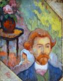 Portrait of Emile Bernard, ca 1889, Emile Schuffenecker (1851-1934)