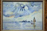 Sunset of the Lagoon, Venice, ca 1903, Henri-Edmond Cross (1856-1910)