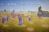The Harvesters, 1892, Charles Angrand (1854-1926)