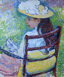 Jeanne Pissarro, 1895, Théophile Van Rysselberghe (1862-1926)